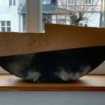 """Schale/ Vase """" das Boot"""" RAKU , , Höhe 28 cm, Breite 60 cm"""